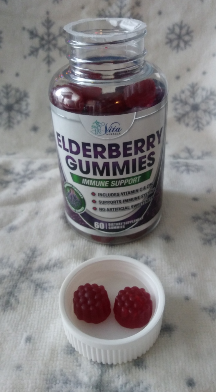 Vita Miracle Elderberry Gummies