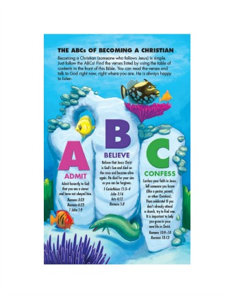 Under the Sea Holy Bible