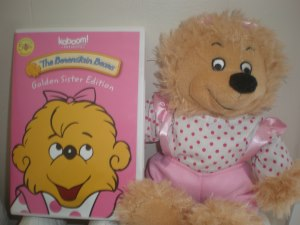 Berenstain Bears DVD and plush doll