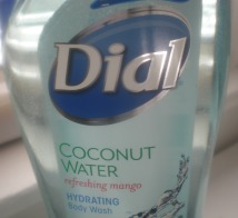 Dial Coconut Water Refreshing Mango Hydrating Body Wash