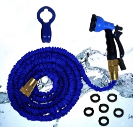 50 Foot Expandable Garden Water Hose by RY Gardener