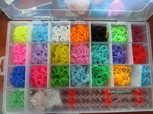 Rainbow Bandz Organizational Box