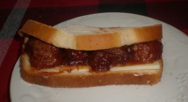 Ultimate Party Meatball Sandwich