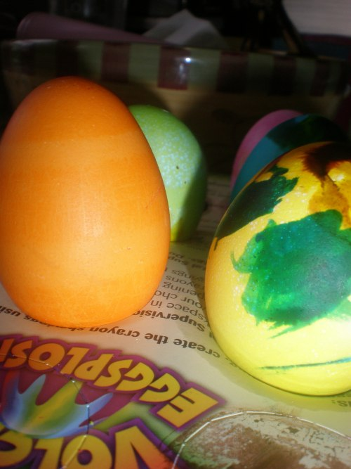PAAS Orange Egg Designs