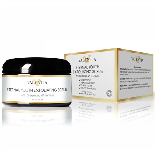 Valentia Eternal Youth Exfoliating Scrub