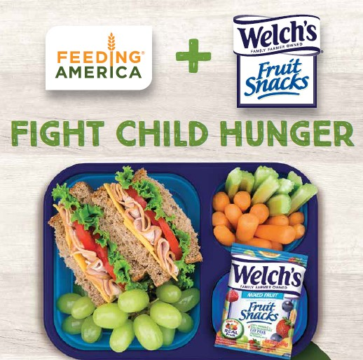 Help Fight Child Hunger with Welch's Fruit Snacks