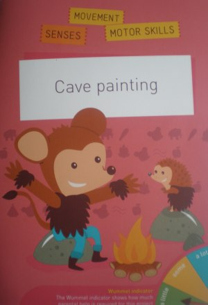 cave painting booklet